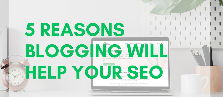 5 reasons blogging helps SEO