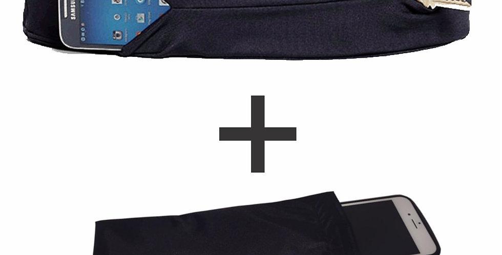 kit corredorr coolbelt mais capa impermeável