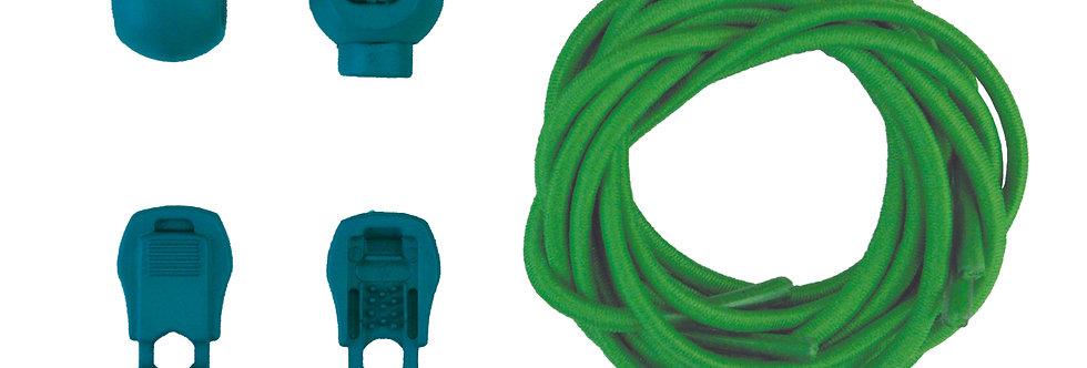 Cadarço Elástico - Verde