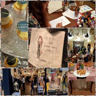 Canvas tassen illustreren bij Zohar Fashion