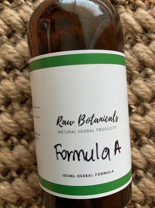 Herbal formula A 100ml
