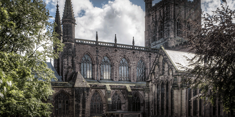 Sketching at Chester Cathedral