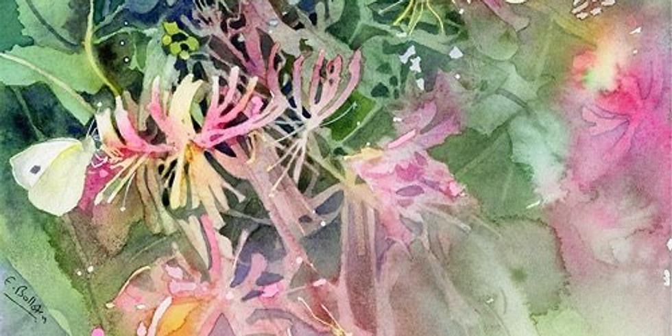 Liz Bolloten Watercolour Demo