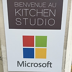 Avril / Microsoft - Kitchen Studio / Boulogne Billancourt