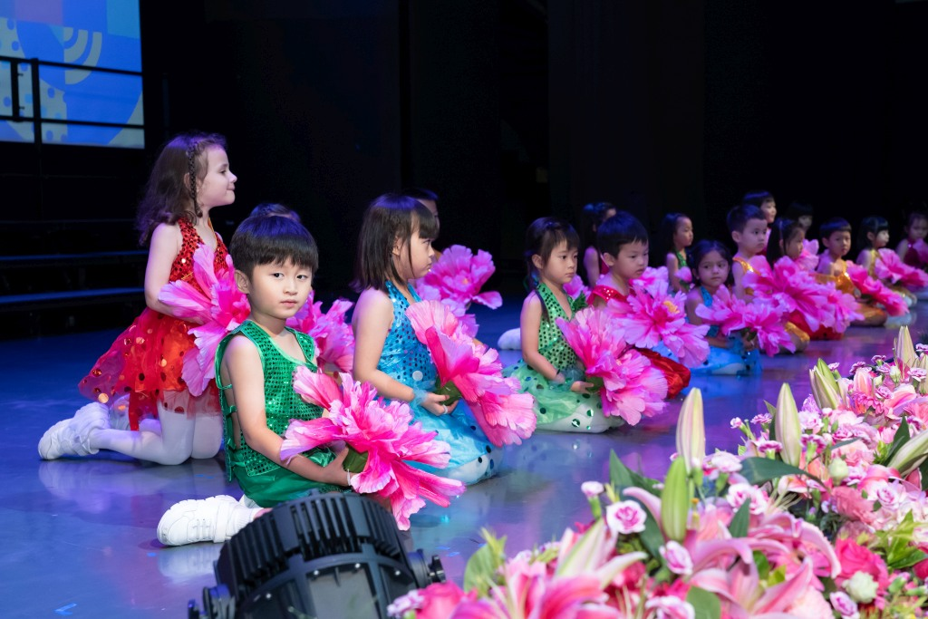 Kindergarten Students in performance