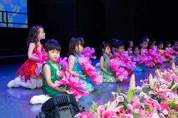 Kindergarten Students in performance