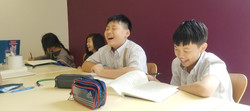 Students enjoying METL discussion