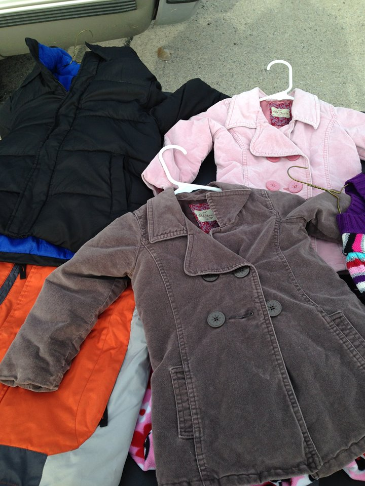 Coat Giveaway