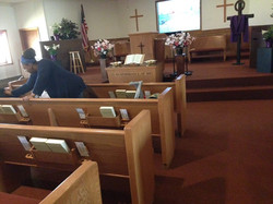 Prayer service beginnings
