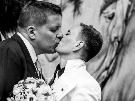 Urbane Hochzeit in Berlin Friedrichshain