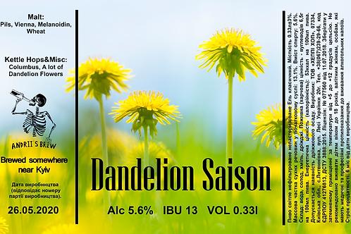 Andrii`s Dandelion Saison