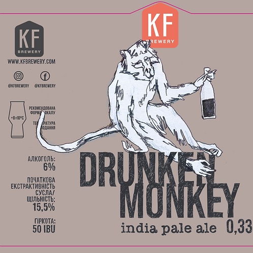 KF Drunken Monkey IPA