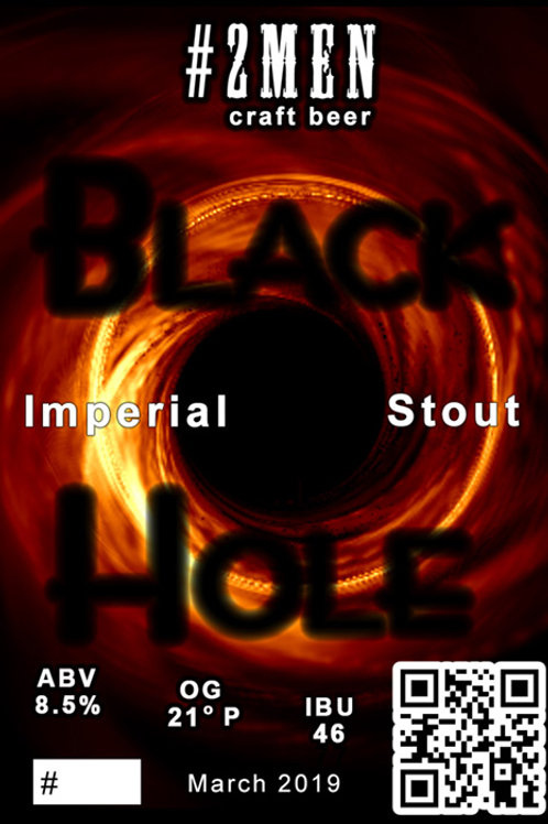 #2MEN Black Hole Imperial Stout