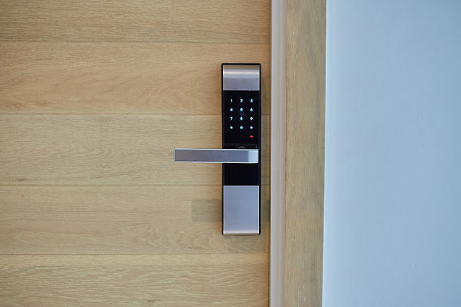 Digital door lock security systems for g