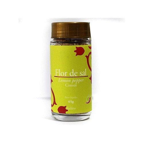Flor de sal - Lemon pepper