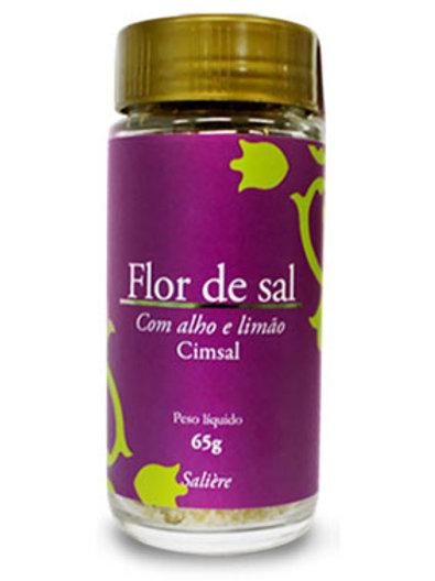 Flor de sal - alho e limão