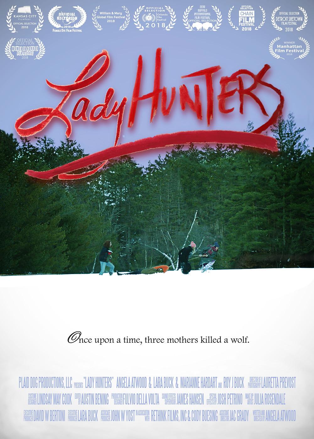 Lady Hunters Poster Laurels