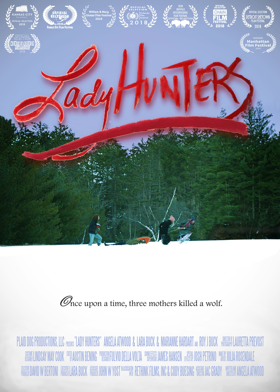 Lady Hunters comes to DETROIT, BUFFALO, ATLANTA, and ORLANDO! Thanks to YOU!