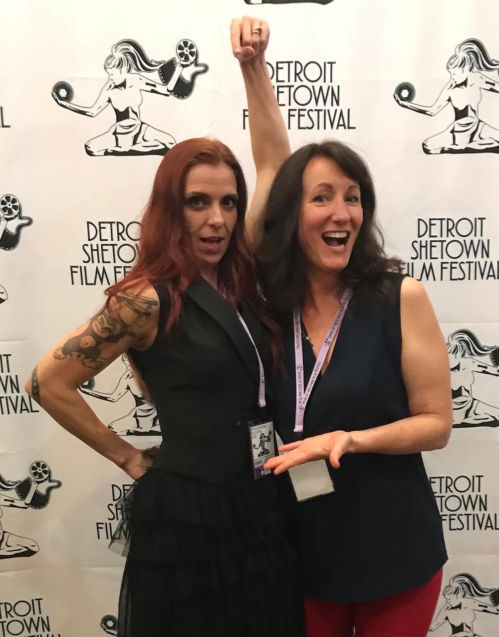 Mandy Loony, Angela Atwood, Detroit Shetown Film Festival