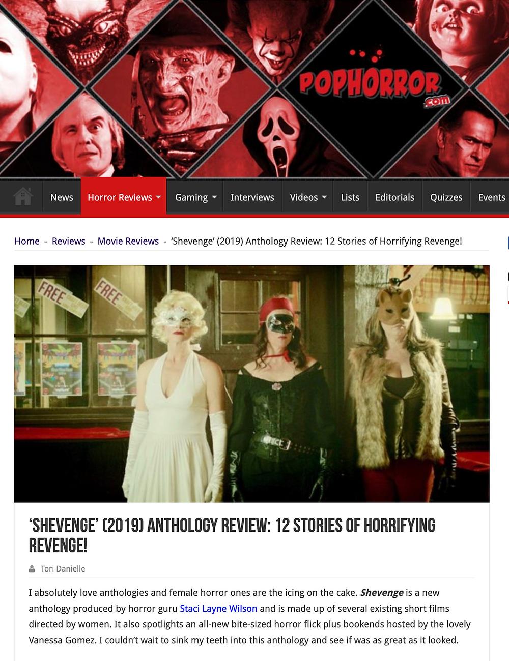 pophorror.com shevenge review