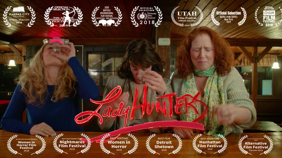 Lady Hunters at the Alamo!