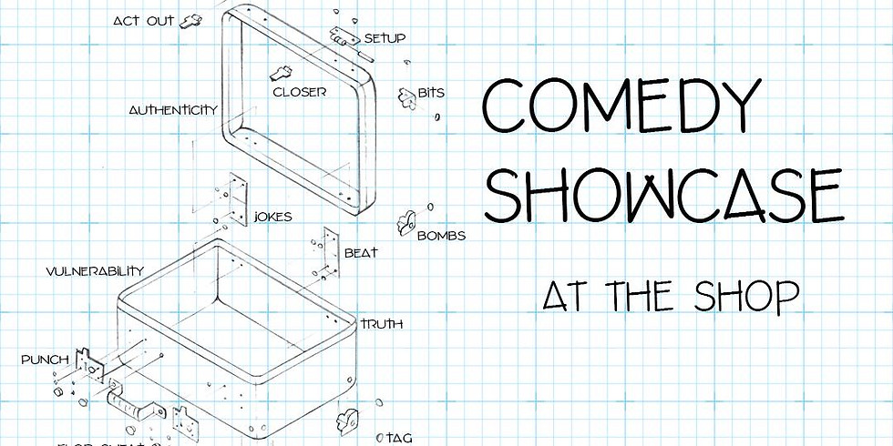 Comedy Showcase at the Shop