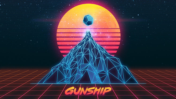 Gunship - Zoom Background