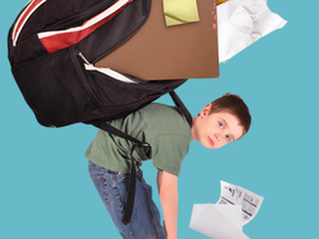 Osteopatia - O peso das mochilas - Avaliação da coluna vertebral em crianças e adolescentes