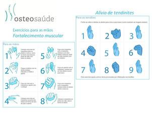 Osteopatia - Alongamentos e exercícios para mãos