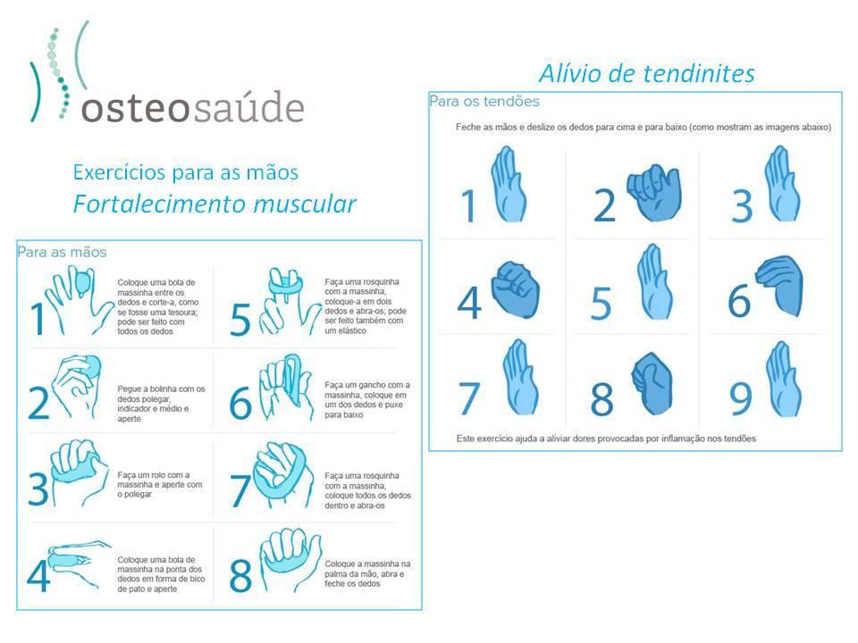 exercícios para mãos