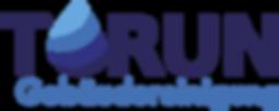 Logo in blau mit Tropfen der Firma Torun Gebäudereinigung