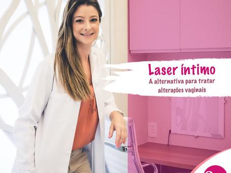 Laser íntimo – alternativa para tratar alterações vaginais
