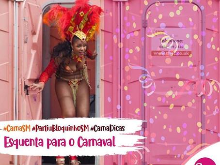 #BLOQUINHOSM - Carnaval com muita informação