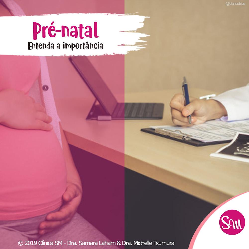 a importância do pré-natal para uma gestação saudável e tranquila.