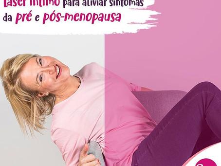 Laser íntimo: alívio de Sintomas de Pré e Pós-menopausa