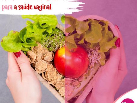Mantenha uma dieta saudável para a sua saúde vaginal