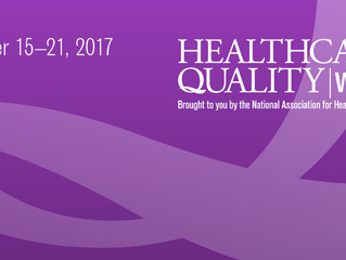 Celebrate Healthcare Quality Week