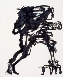 Shapeshifting / Ink on Paper