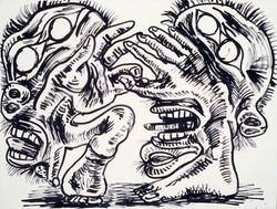 Relationship 1 / Ink on Paper