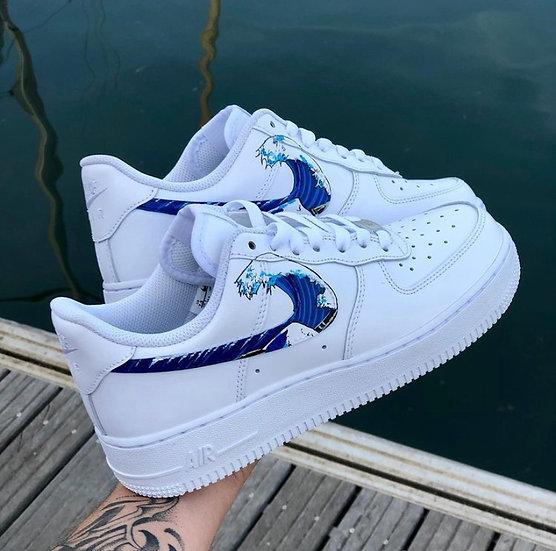Nike Air Force 1 - Vague HOKUSAÏ
