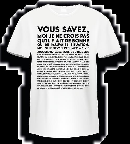 T shirt Mission Cléopartre