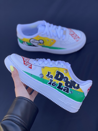 Nike Air Force 1 - Custom Dodo léLa