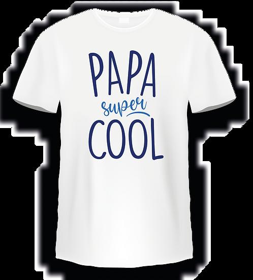 T shirt - Papa super cool