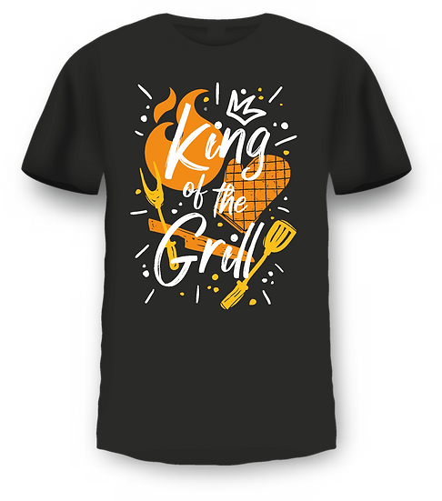T shirt King of the Grill