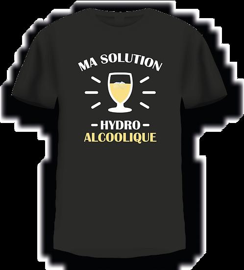 T shirt - Ma solution hydro alcoolique