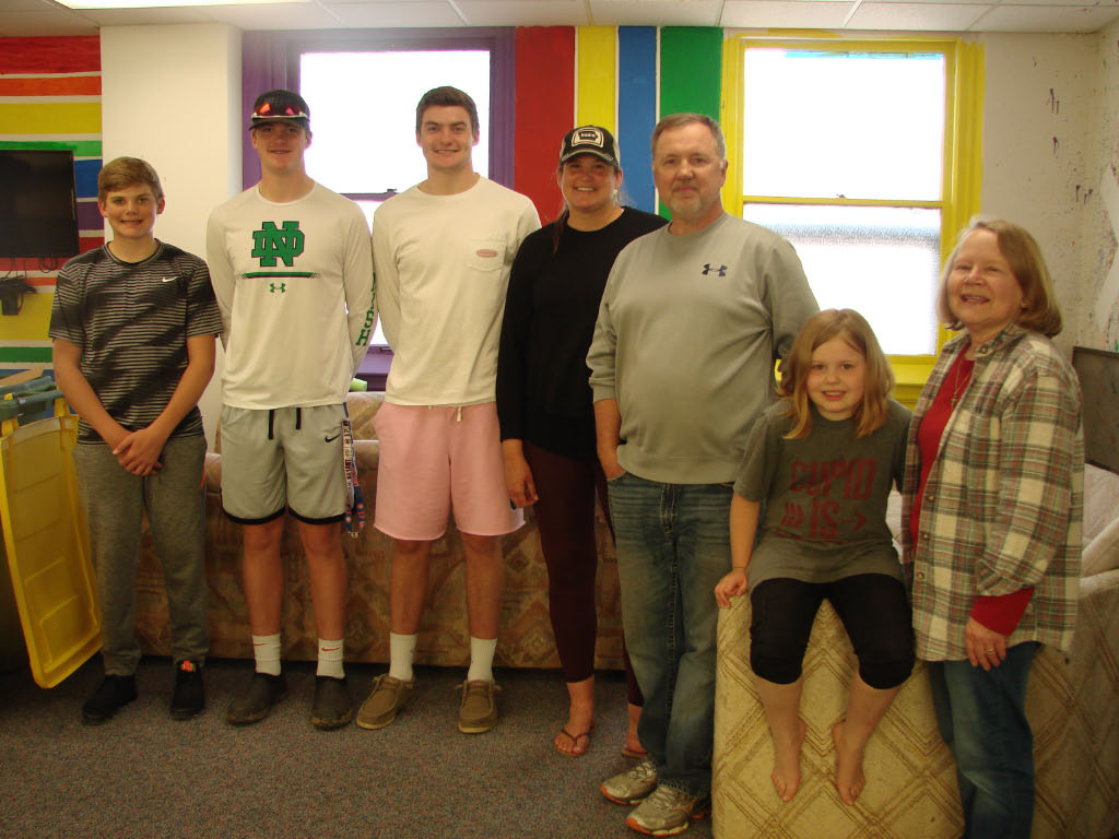 Many thanks to the Reifsteck family