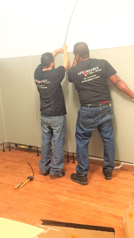 WE INSTALL ,fast, clean & reasonable..