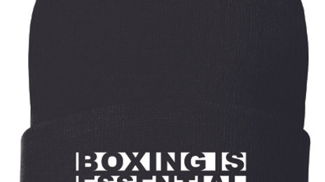BOXING IS ESSENTIAL Beanie