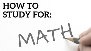 How to Ace Every Math Test