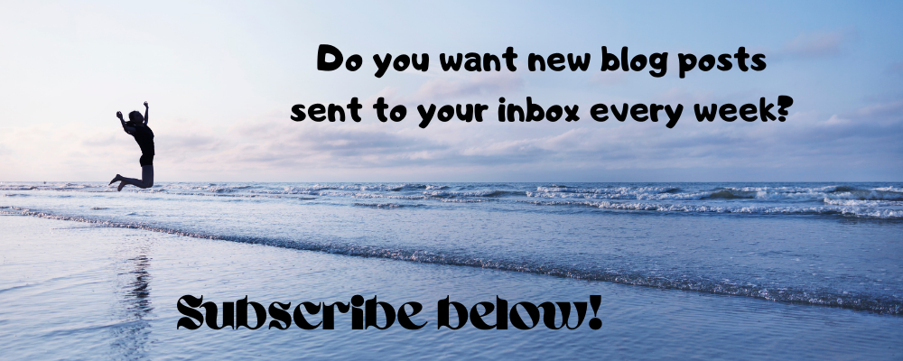 Do you want new blog posts sent to your inbox every week? Subscribe below!